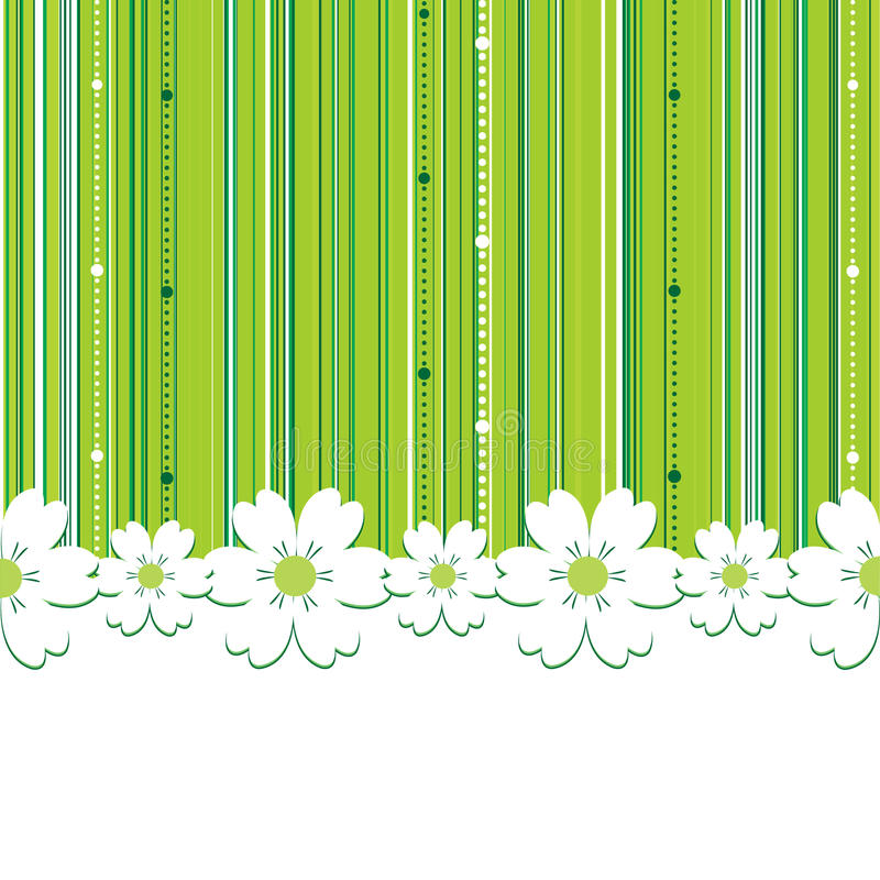 Sommer-Blumenhintergrund lizenzfreie abbildung