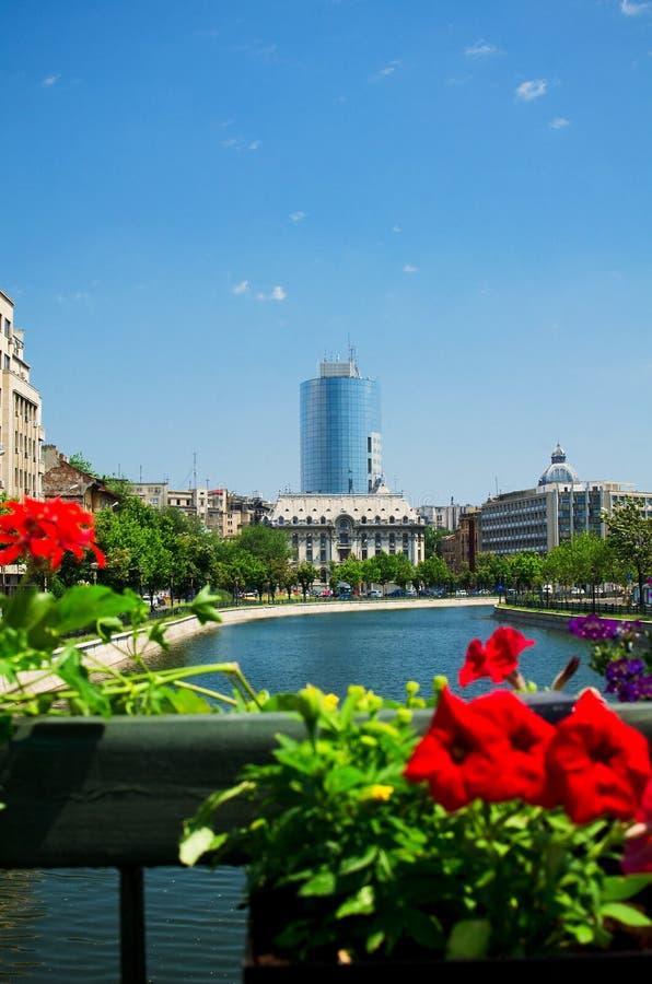 Sommer in Bucharest lizenzfreies stockbild