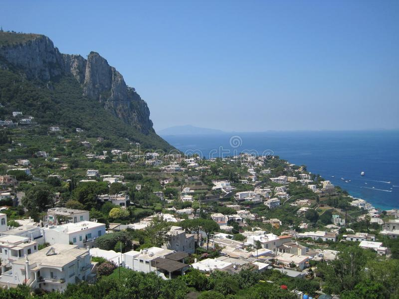 Sommer in Capri 3 lizenzfreies stockbild