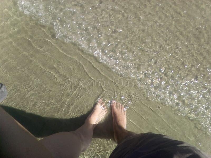Sommer entspannen sich stockfotografie
