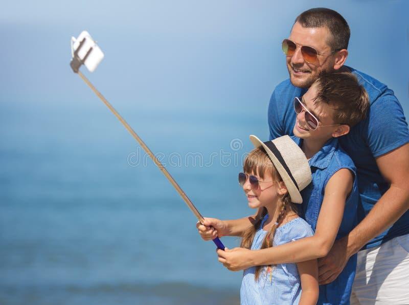 Sommer, Familie, Ferienkonzept stockfotografie