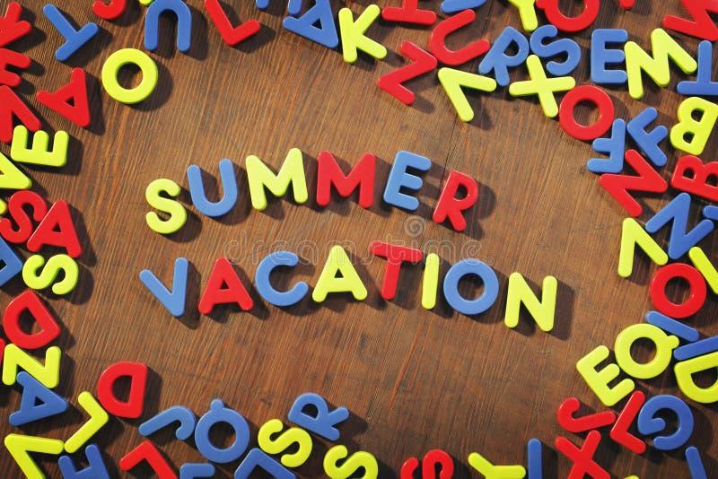 Sommer-Ferien lizenzfreies stockfoto