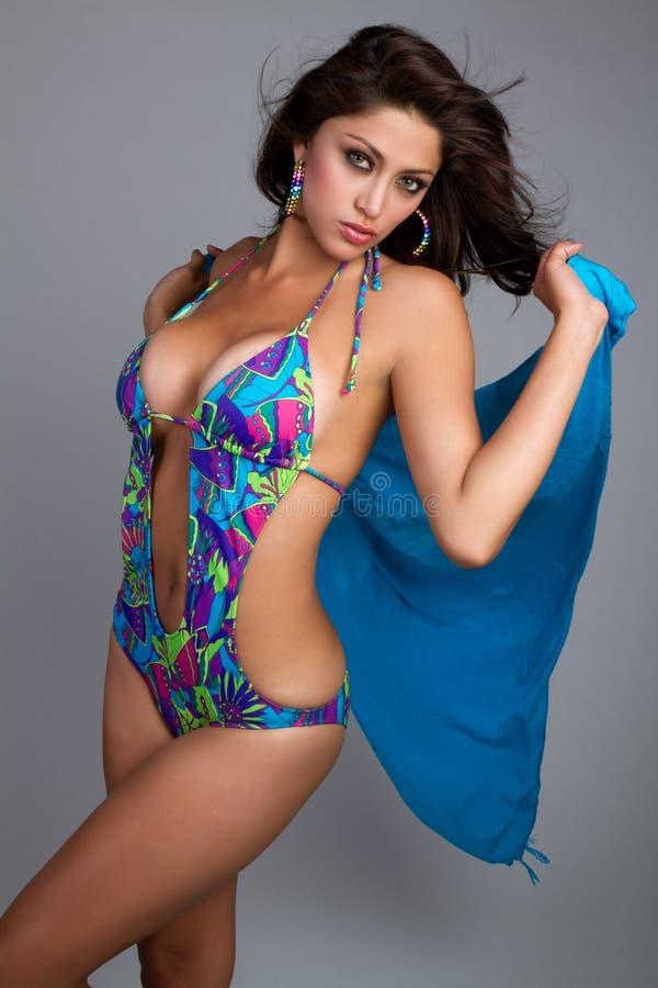 Sommer-Frau lizenzfreie stockfotografie