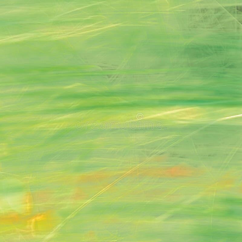 Sommer-Gras-Hintergrund, große ausführliche Bewegung verwischte Muster, helles Gelb, Grün, leichtes bokeh lizenzfreie stockfotografie