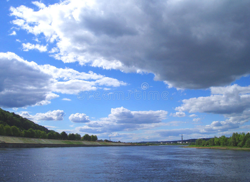 Sommer-Himmel 2 stockbilder