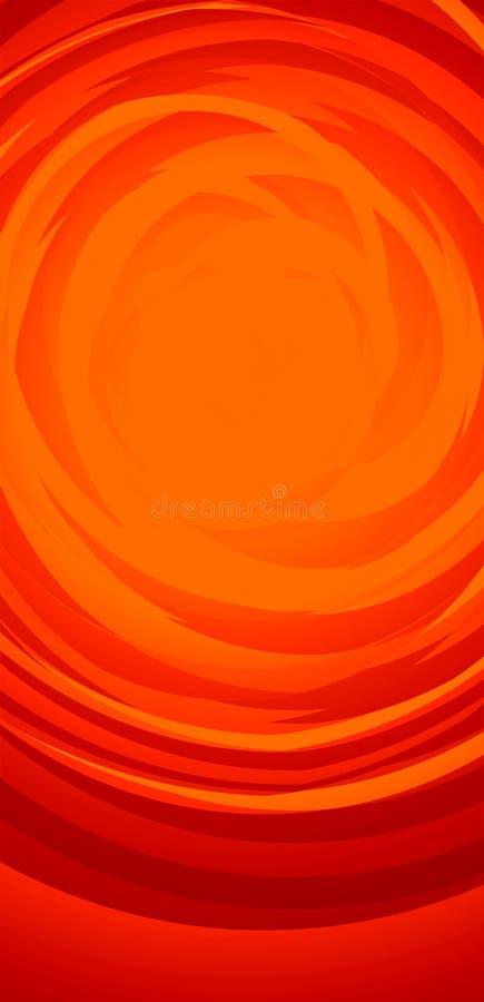 Sommer-Hitze: Abstrakter Hintergrund vektor abbildung