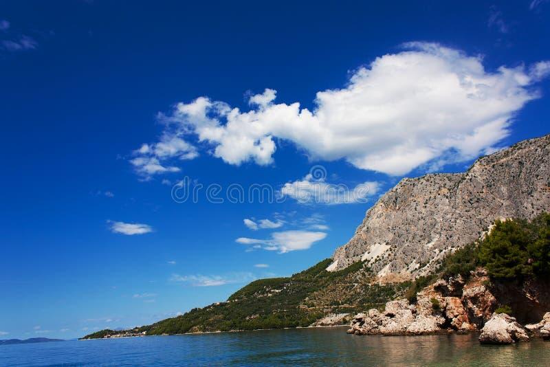 Sommer Kroatien stockbild