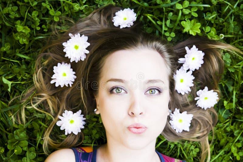 Sommer-Kuss stockfoto