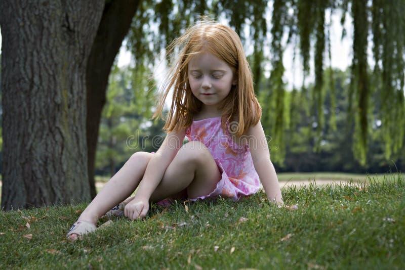 Sommer-Mädchen lizenzfreie stockfotos