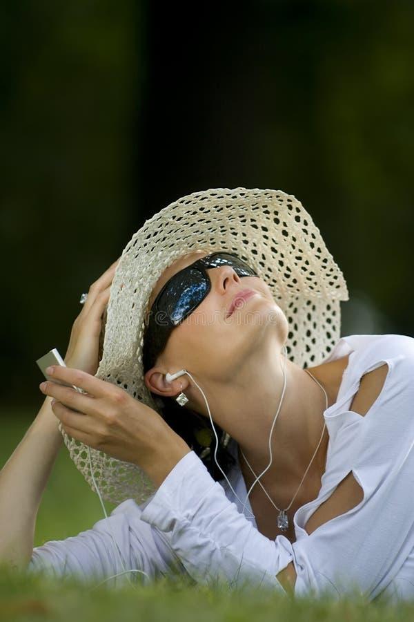 Sommer-Musik lizenzfreies stockfoto