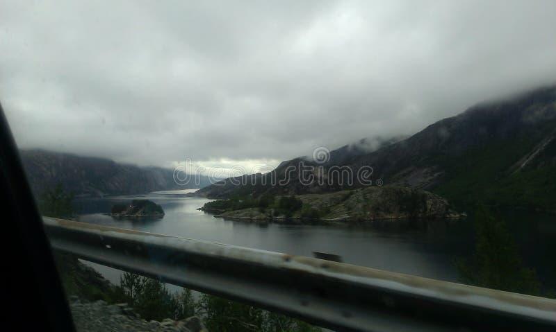 Sommer in Norwegen stockbild