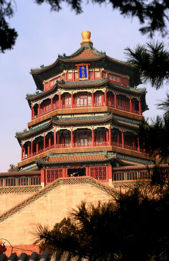 Sommer-Palast stockbild