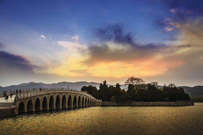 Sommer-Palast Peking lizenzfreie stockfotografie