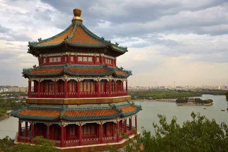Sommer-Palast, Peking stockfotografie