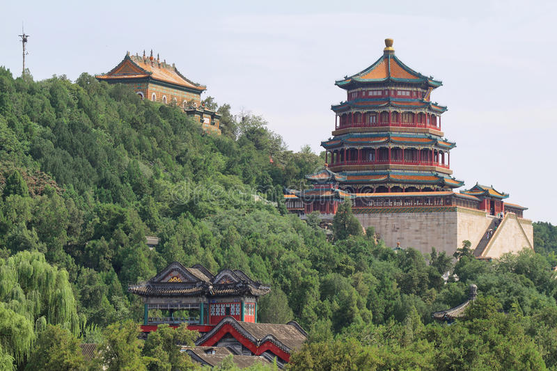 Sommer-Palast in Peking stockfoto