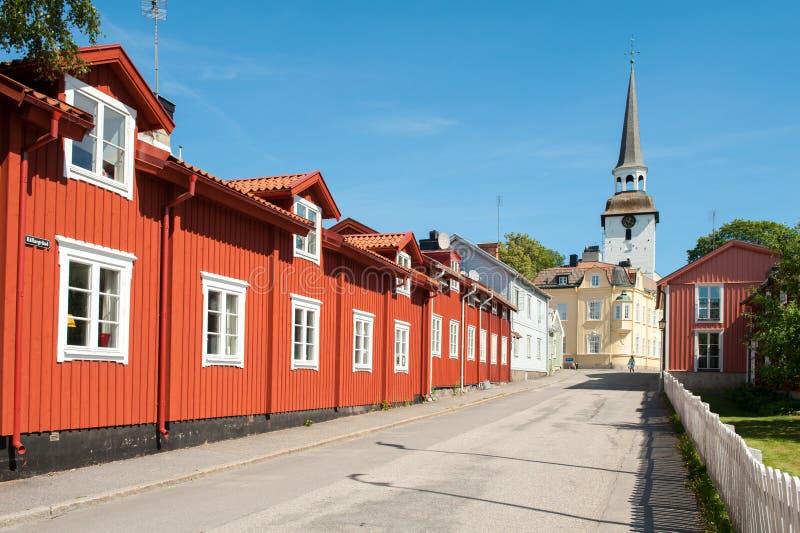 Sommer in Schweden lizenzfreies stockfoto