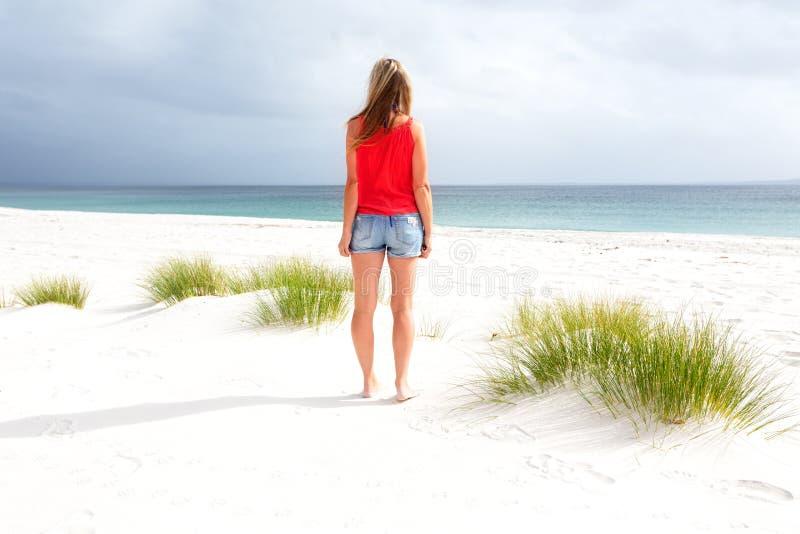 Sommer-Tage am Strand lizenzfreies stockfoto