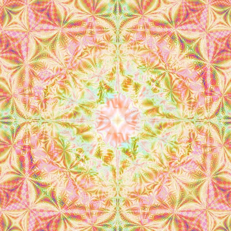 Sommer und Frühlingsfarben abstrakte Hintergrund-Schablone konzipieren stock abbildung