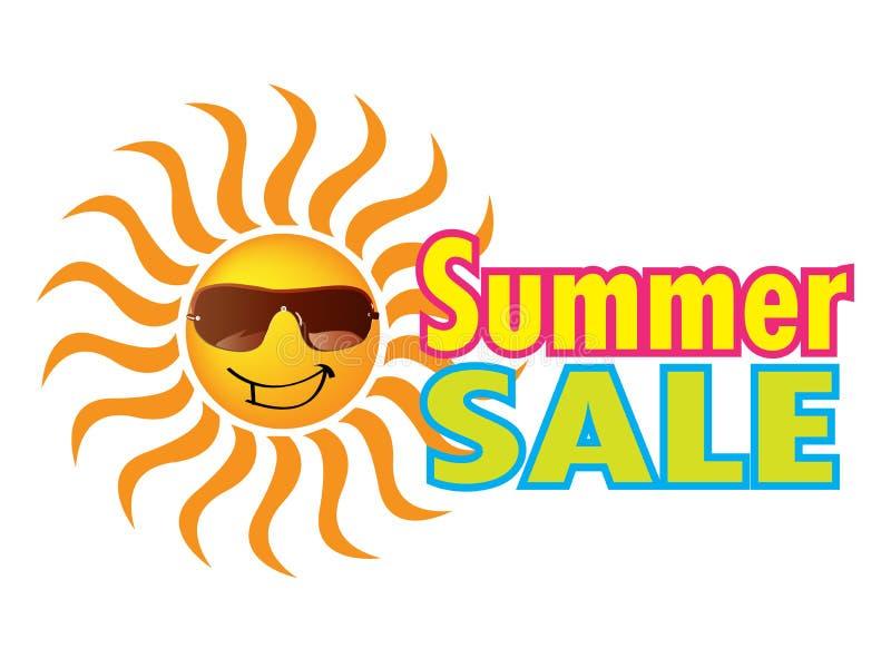 Sommer-Verkauf lizenzfreie abbildung