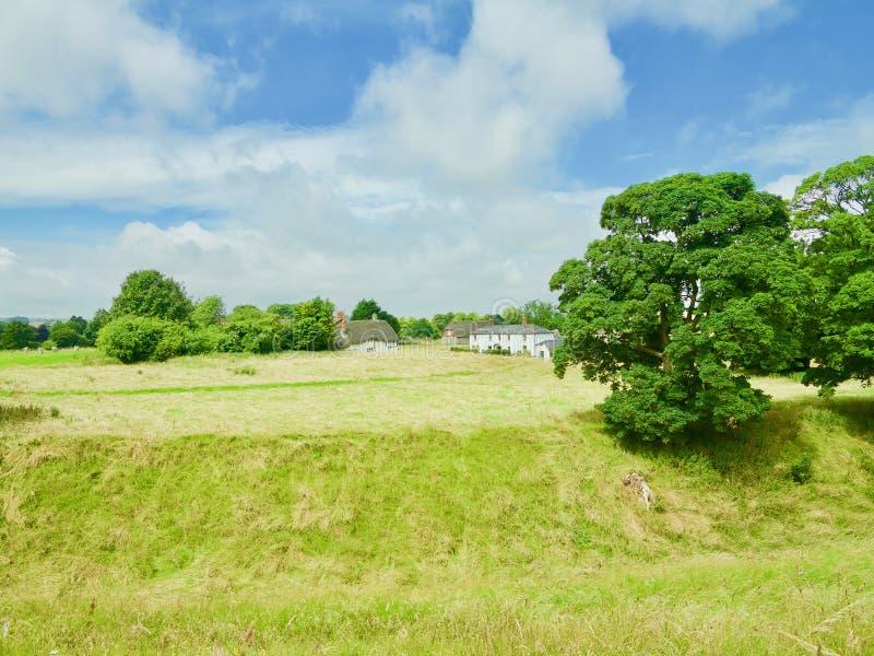 Sommer in Wiltshire lizenzfreies stockfoto
