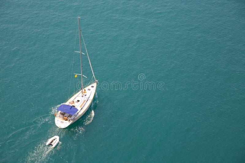 Sommer yachting stockbilder
