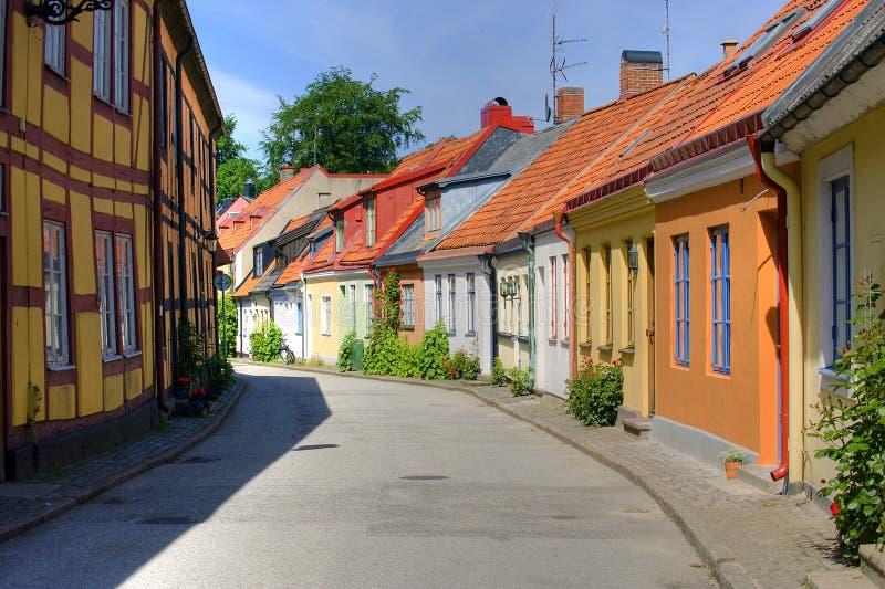 Sommer in Ystad lizenzfreie stockbilder