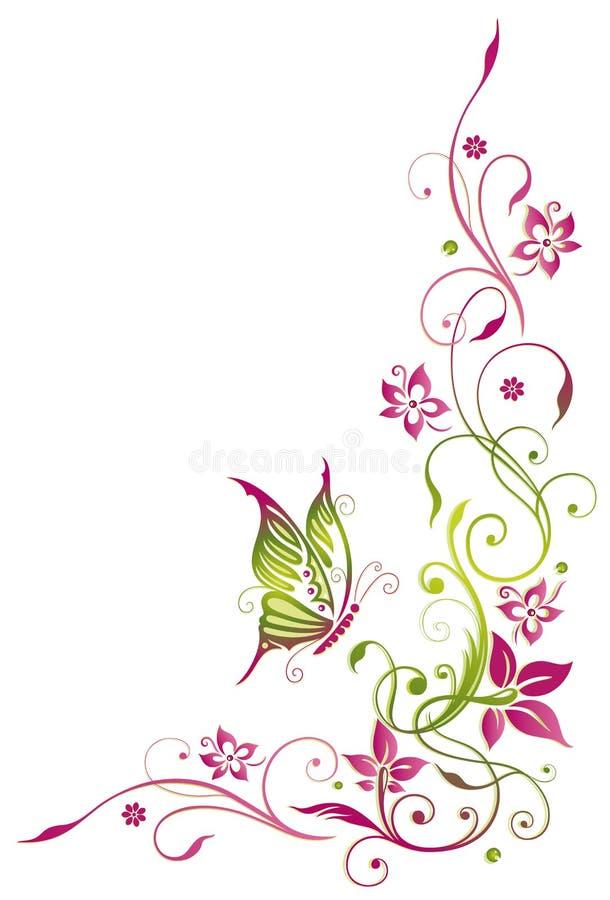 Sommerblumen stock abbildung