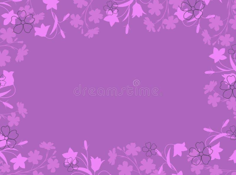 Sommerblumendekorationen stock abbildung