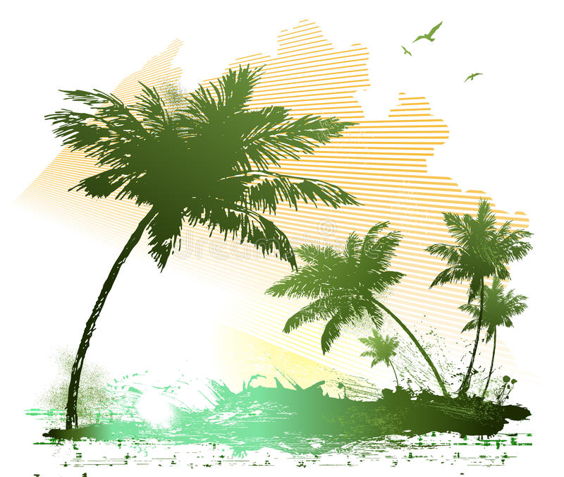 Sommerhintergrund stockbild