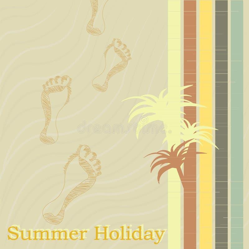 Sommerhintergrund Stockfotos