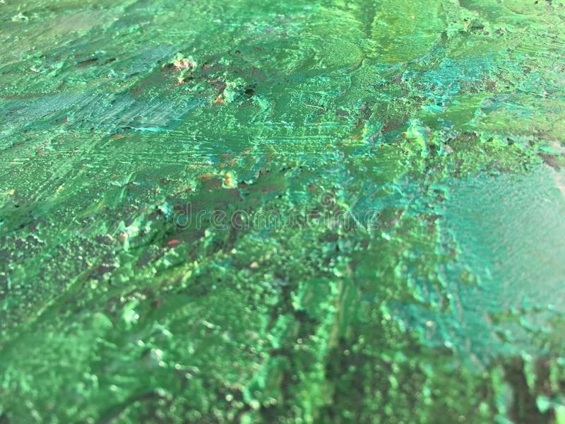 Sommerhintergrund der organischen Substanz mit grüner Frühlingsmalereibeschaffenheit lizenzfreies stockfoto