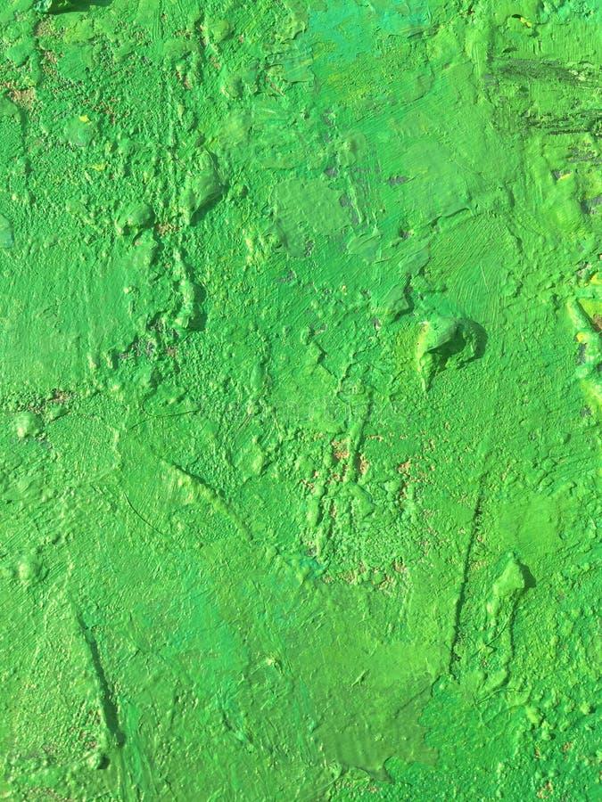 Sommerhintergrund der organischen Substanz mit grüner Frühlingsmalereibeschaffenheit stockbild