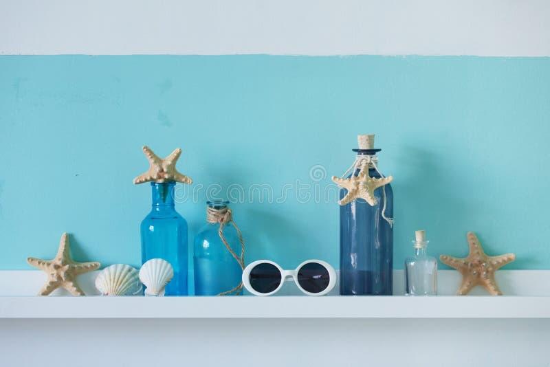 Sommerinnenraumdekor lizenzfreies stockfoto