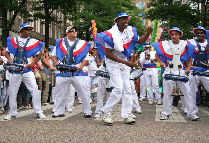 Sommerkarneval Rotterdam stockfoto