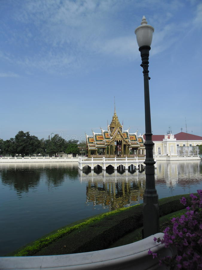 Sommerpalast Tailandia imágenes de archivo libres de regalías