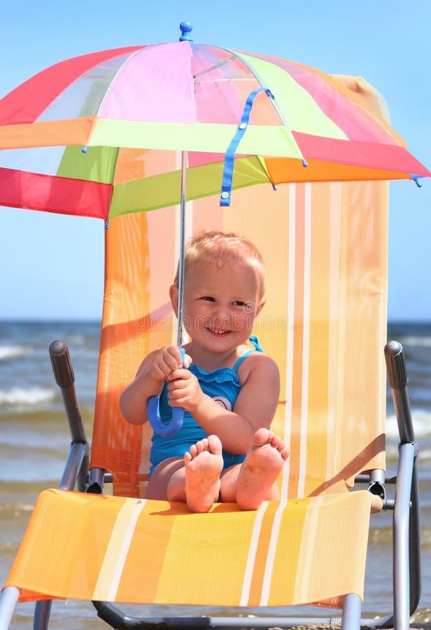 Sommerregenschirm stockfoto