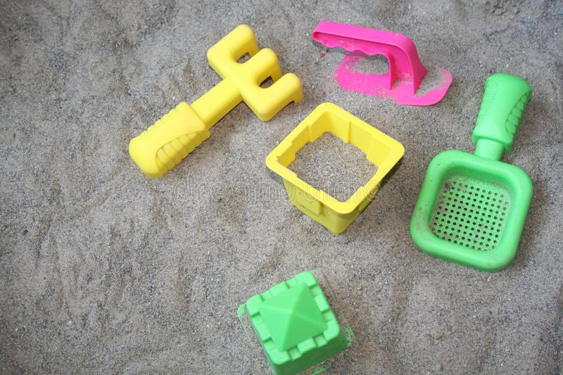 Sommerspielwaren Kostenloses Stockbild