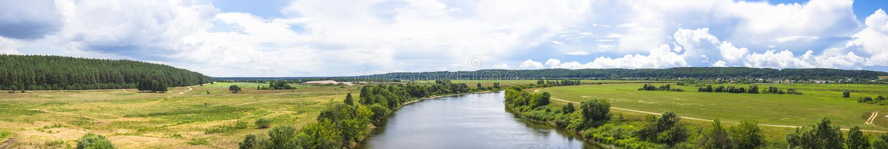 Sommertag auf Dnepr lizenzfreies stockfoto