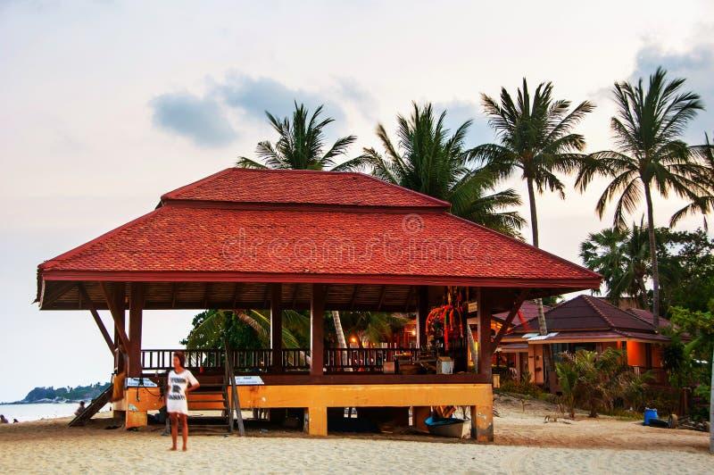 Sommerurlaubsort bei Ko Samui, Thailand stockbild