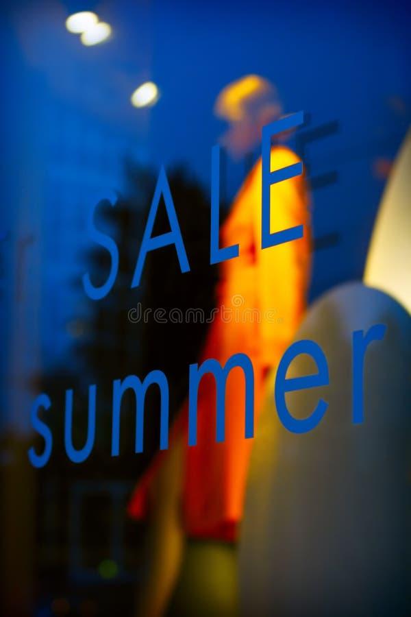 Sommerverkauf stockbild