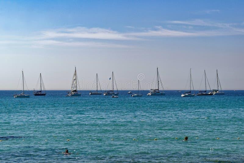 Sommerzeit im Süden von Frankreich stockfotografie