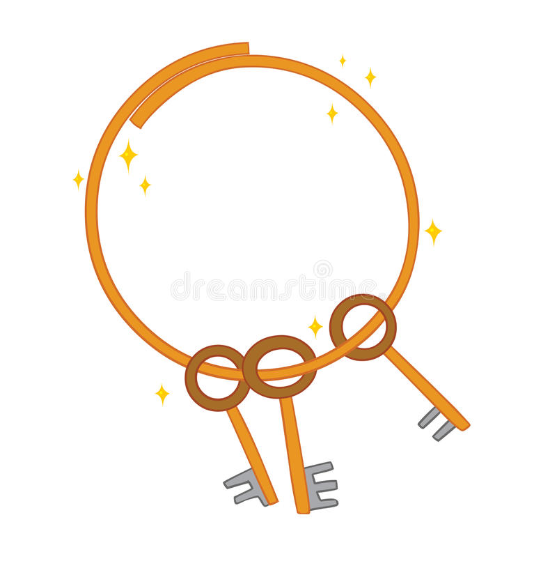 Sommige sleutels vector illustratie