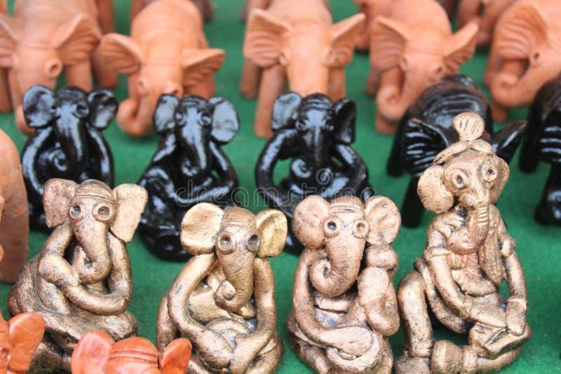 Sommige standbeelden stock afbeelding