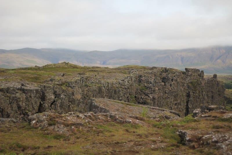 Sommità dell'Islanda fotografie stock libere da diritti
