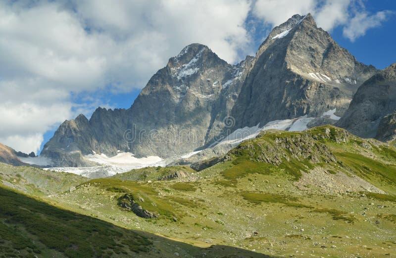 Sommità di Caucaso immagini stock