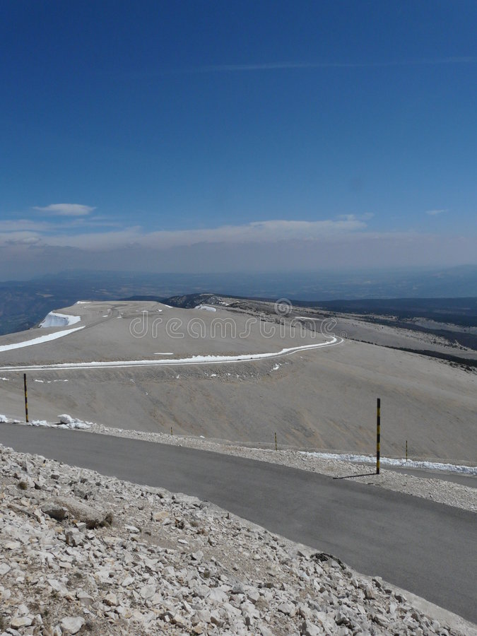 Download Sommit of Mont Ventoux stock image. Image of mont, tour - 7196973