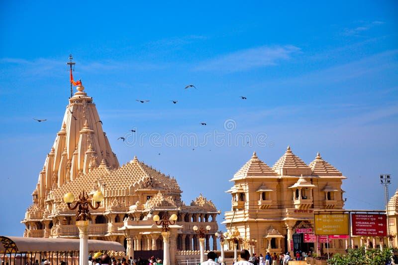 Somnath temple royalty free stock photo