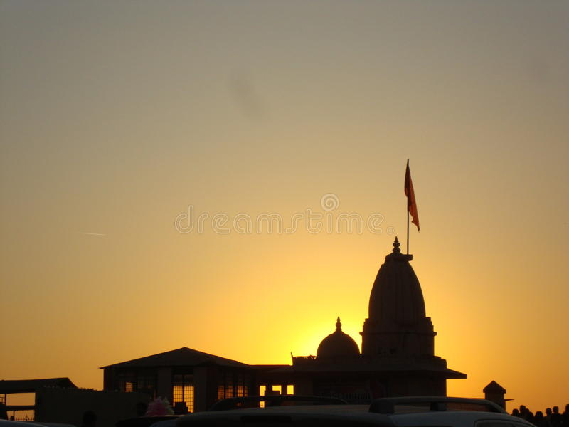 Somnath temple stock photography