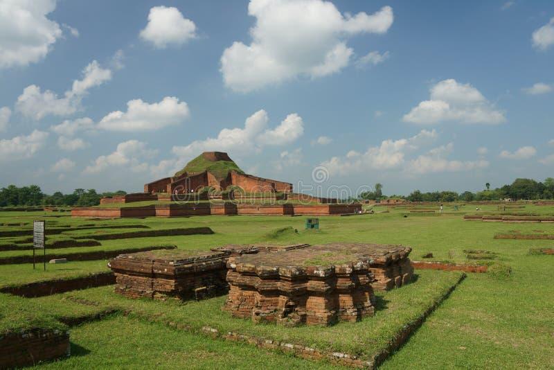 Sompur Mahavihara royalty free stock photo