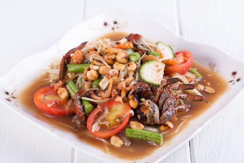 Download Somtum, Melonowa Sałatkowy Wyśmienicie Jedzenie W Thailand Obraz Stock - Obraz złożonej z greenbacks, natura: 53792323